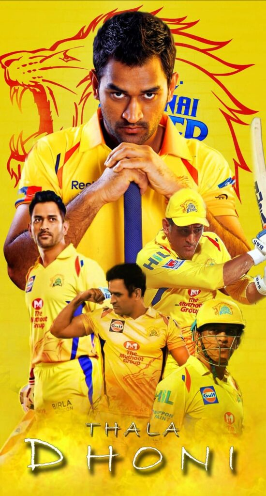 Csk Iphone Background 4k
