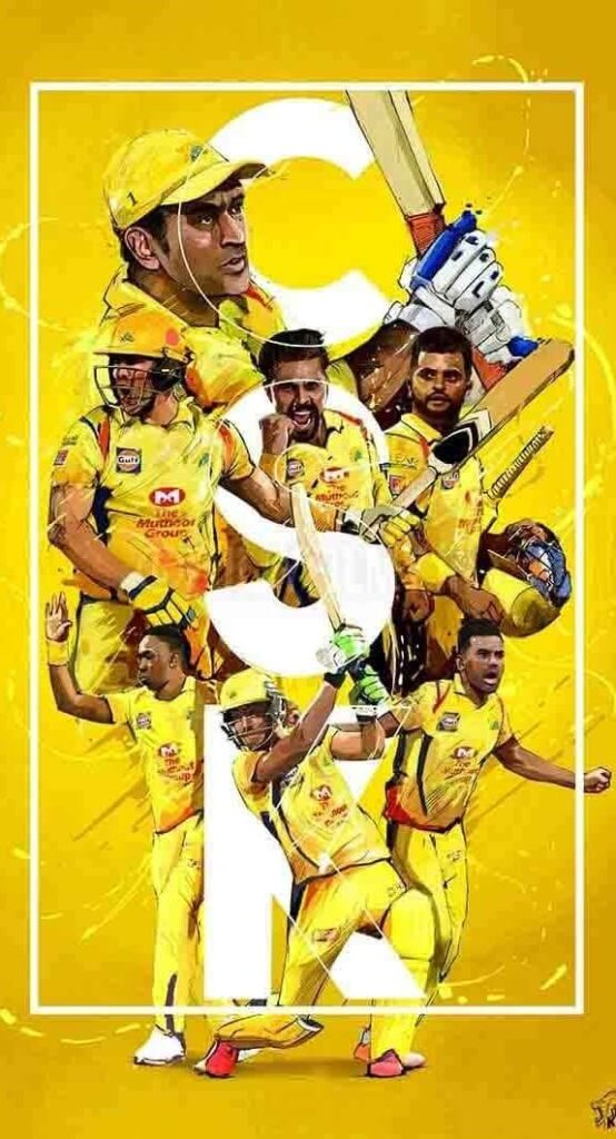 Csk Iphone Backgrounds