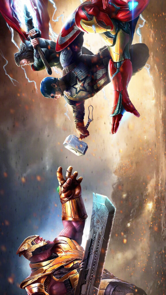 Superheros Wallpaper For Iphone