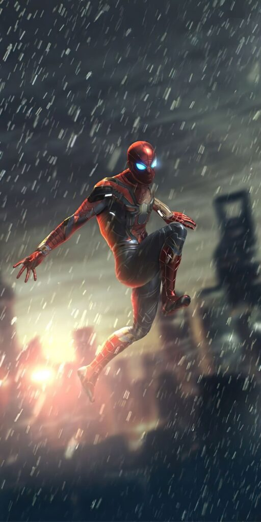 Superheros Iphone Wallpaper Spiderman