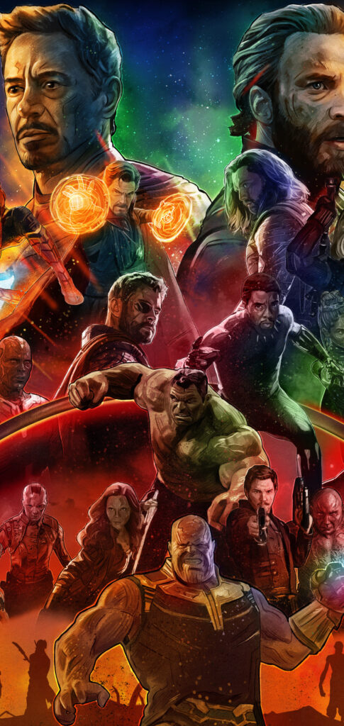 Avengers Iphone 11 Pro Wallpaper