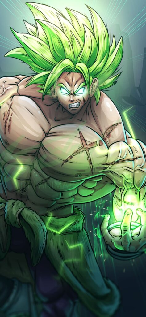 Broly Iphone 11 Pro Max Wallpaper