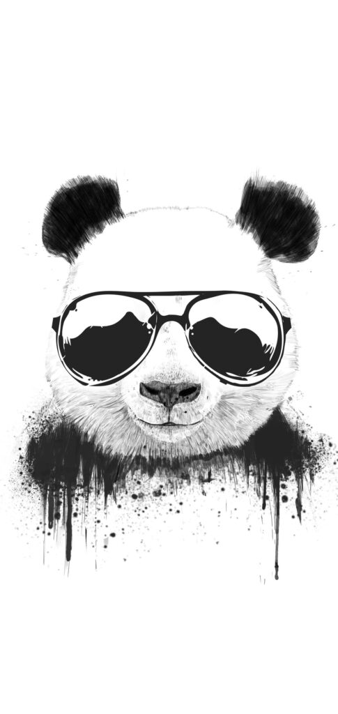 panda background for iphone