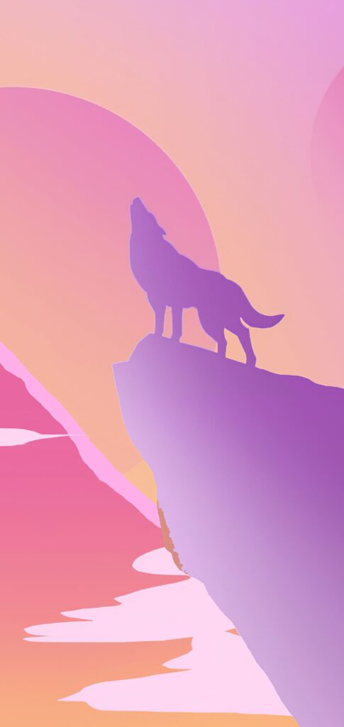 wolf wallpaper for iphone 12