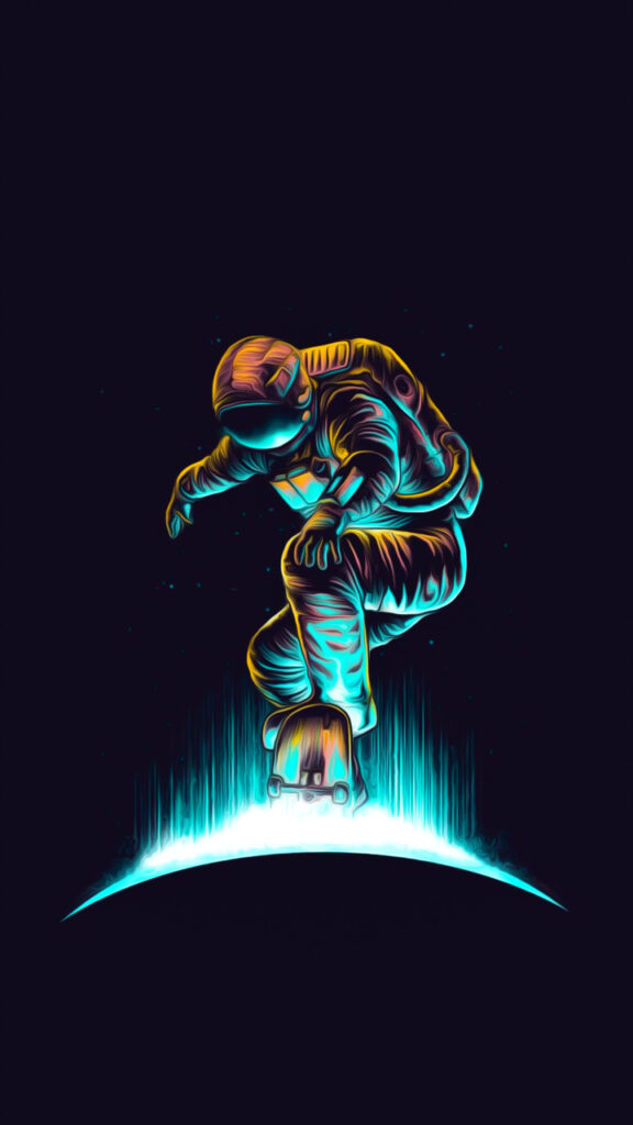 astronaut wallpaper for iphone 8