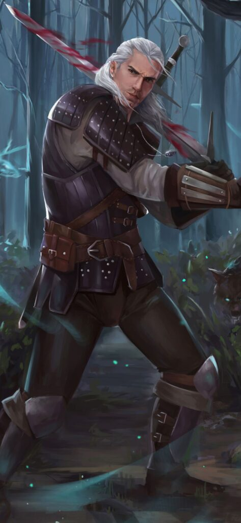 the witcher iphone background