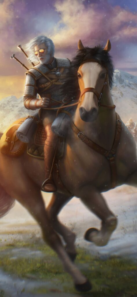 the witcher iphone wallpaper hd