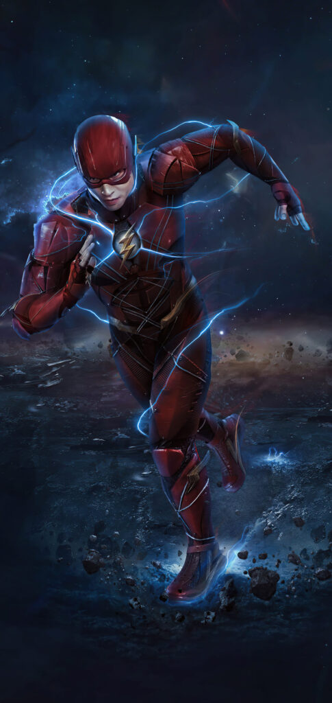 cool the flash iphone wallpaper