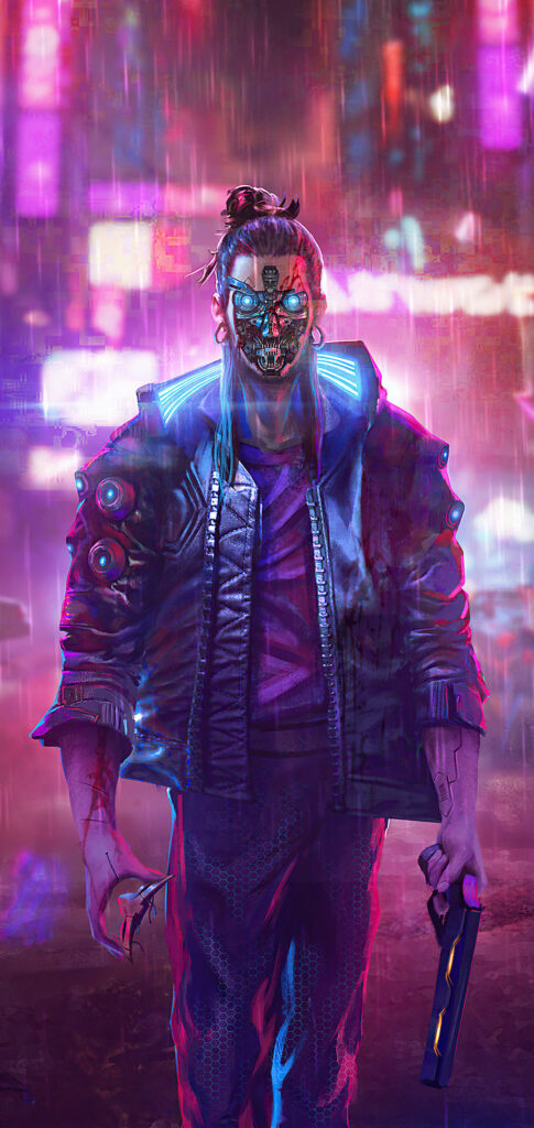 cyberpunk 2077 iphone background