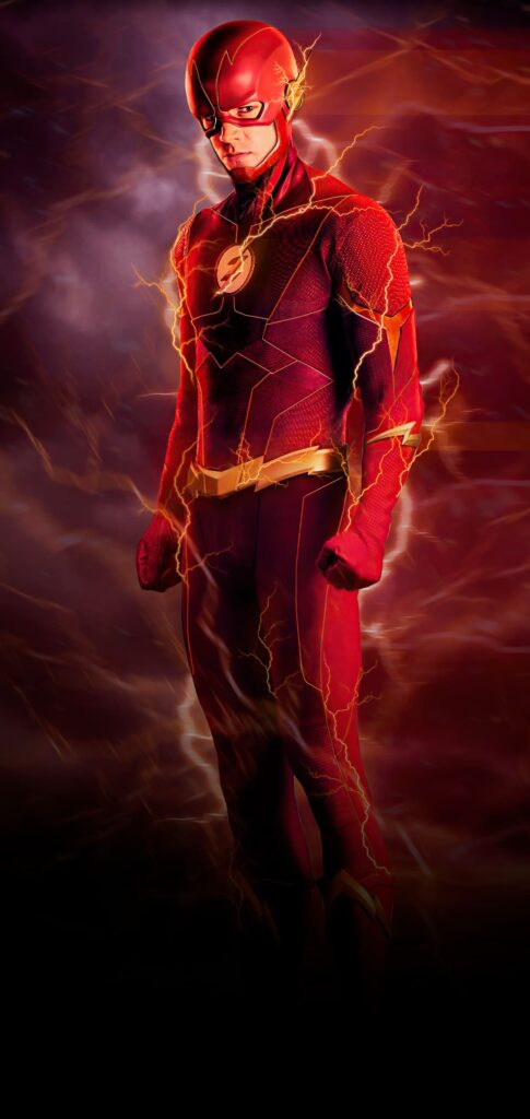 the flash new iphone wallpaper