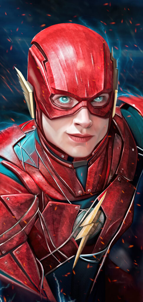 the flash iphone wallpapers