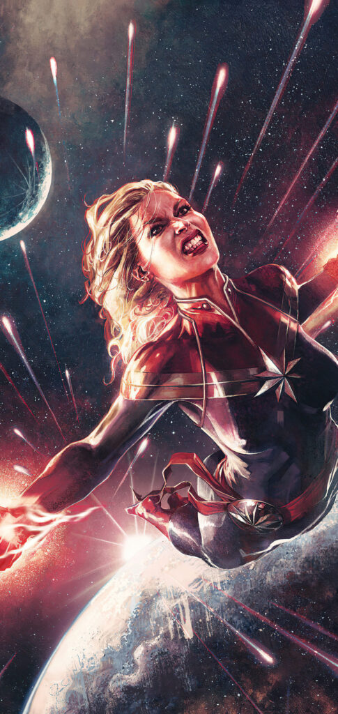 captain marvel iphone picture