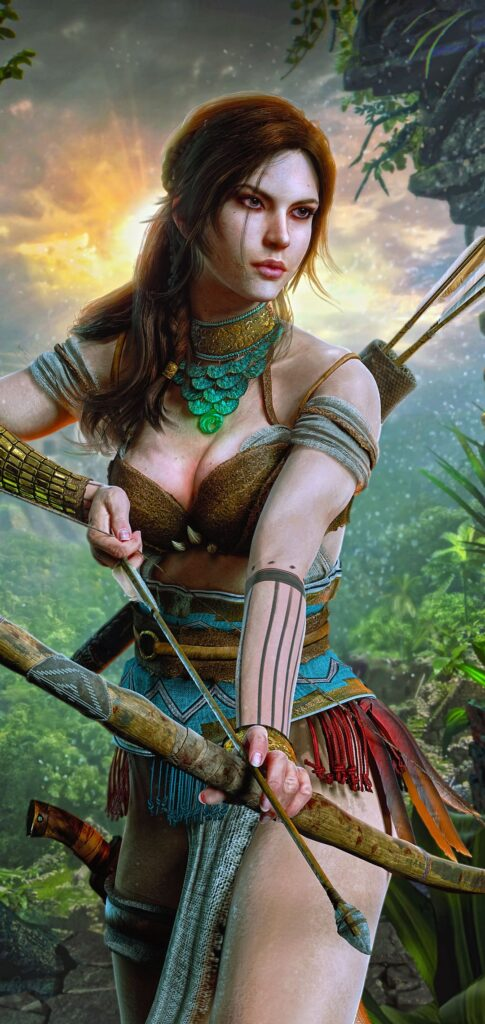 tomb raider iphone wallpapers